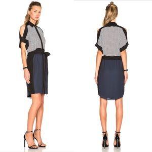 OHNE Titel | open shoulder mini dress | 6